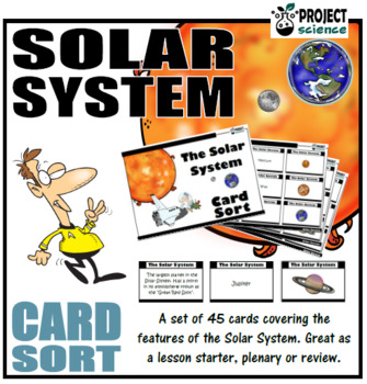 Solar System Card Sort