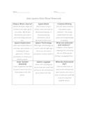 Solar System Choice Board Homework Project