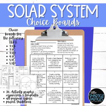 Solar System Choice Boards