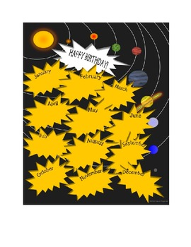 Solar System Classroom Theme Pack