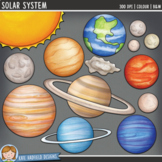"Space and Planets Clip Art: ""Solar System"""