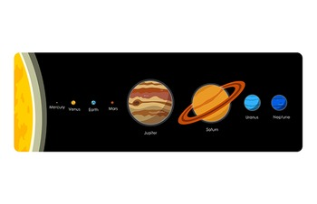 Solar System Clip Art Pack! - Mercury, Venus, Earth, Mars, Jupiter, Saturn...