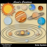 Solar System Clipart Pack