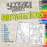 Solar System Color to Learn Pages 10 Pack!