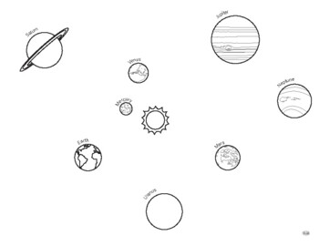 Solar System Coloring Worksheets Teaching Resources Tpt