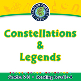 Solar System: Constellations & Legends - NOTEBOOK Gr. 5-8