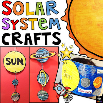 Solar System Mobile and Crowns