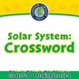 Solar System: Crossword - MAC Gr. 5-8