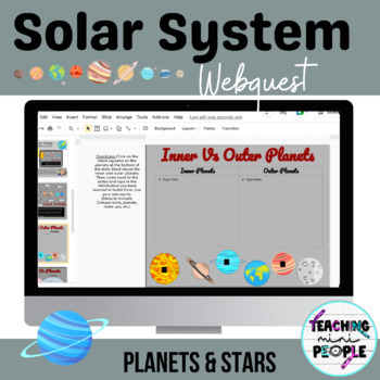 Solar System DIGITAL Interactive Journal