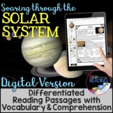 Solar System Differentiated Reading Passages: Digital Vers