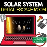 Solar System Digital Escape Room, Solar System Breakout Room, Distance Learning
