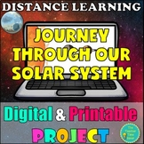 """Solar System Digital & Printable Project: """"Journey to our Solar System"""""""
