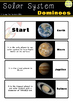Space: Solar System Dominoes