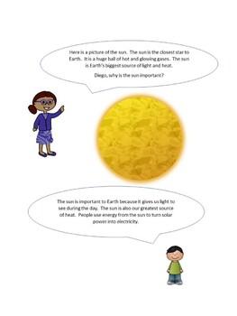 Solar System: ESL Practice Packet
