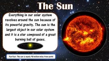 Solar System Editable PowerPoint