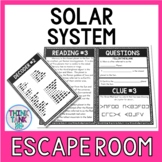 Solar System Escape Room Activity