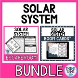 Solar System Escape Room and Boom Cards™ BUNDLE