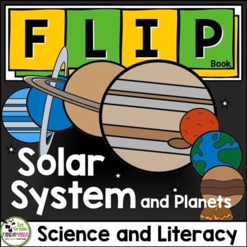 Solar System FLIP Book by 1st Grade Pandamania | TpT