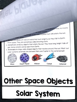 Solar System and Planets FLIP Book
