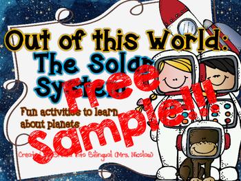 Solar System FREE SAMPLE