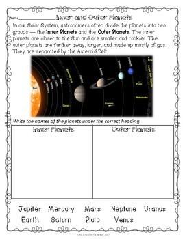 Solar System FREEBIE