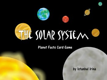 Solar System Facts - Card Game