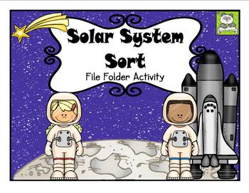 Solar System File Folder Activity