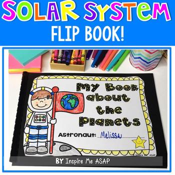 Solar System Flip Book