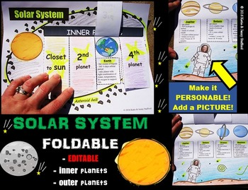 Solar System Foldable