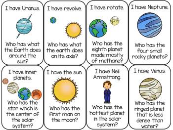 Solar System Game