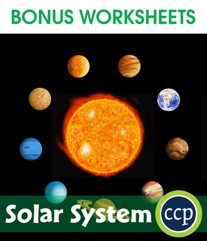 Solar System Gr. 5-8 - BONUS WORKSHEETS