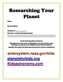 Solar System Group Project