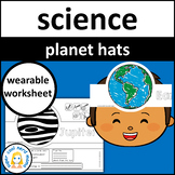 Solar System Crown Hats