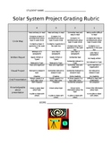 Solar System Home Project- Rubric and Note Home