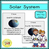 Solar System I Have, Who Has Game