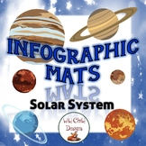 Solar System Infographic Mats: Nonfiction & Science Reading Mats