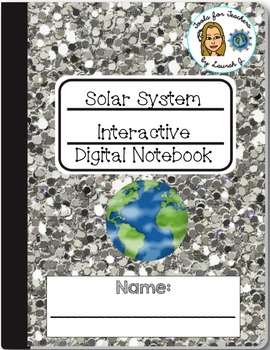 Solar System Interactive Digital Notebook for Google Drive®