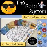 Solar System Interactive Fan
