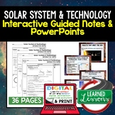 Solar System Guided Notes & PowerPoints NGSS Google, Interactive