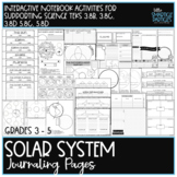 Solar System Interactive Journaling Pages