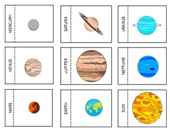 Solar System Interactive Notebook