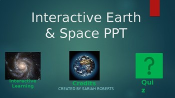 Solar System-Interactive PowerPoint