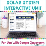 Solar System Interactive Unit for Use With Google Classroo