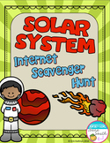 Solar System Internet Scavenger Hunt WebQuest Activity
