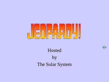 Solar System Jeopardy