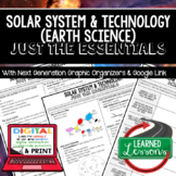 Solar System Just the Essentials Content Next Generation Science,  Google