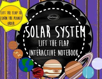 Solar System Kindergarten Science Interactive Notebook