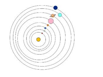 Solar System Label Activity