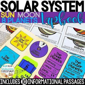 Solar System Lapbook Interactive Kit, Planets