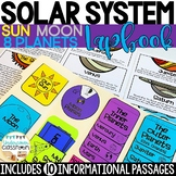Solar System Lapbook & Passages | Planets | Solar System Activity